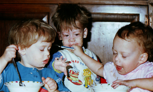 Cafri triplets, tied but separate, to go their own ways