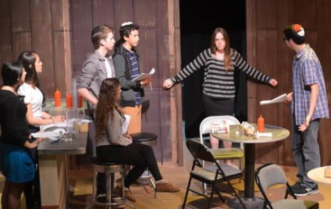 Student-written murder mystery is Drama's 'devised play,' replacing One-Acts
