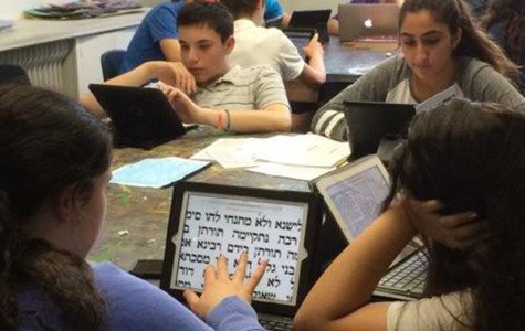 New app for Talmud curriculum gets a tryout by sophomores