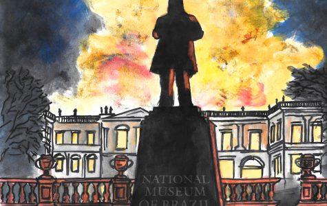Brazil museum fire burns history of centuries