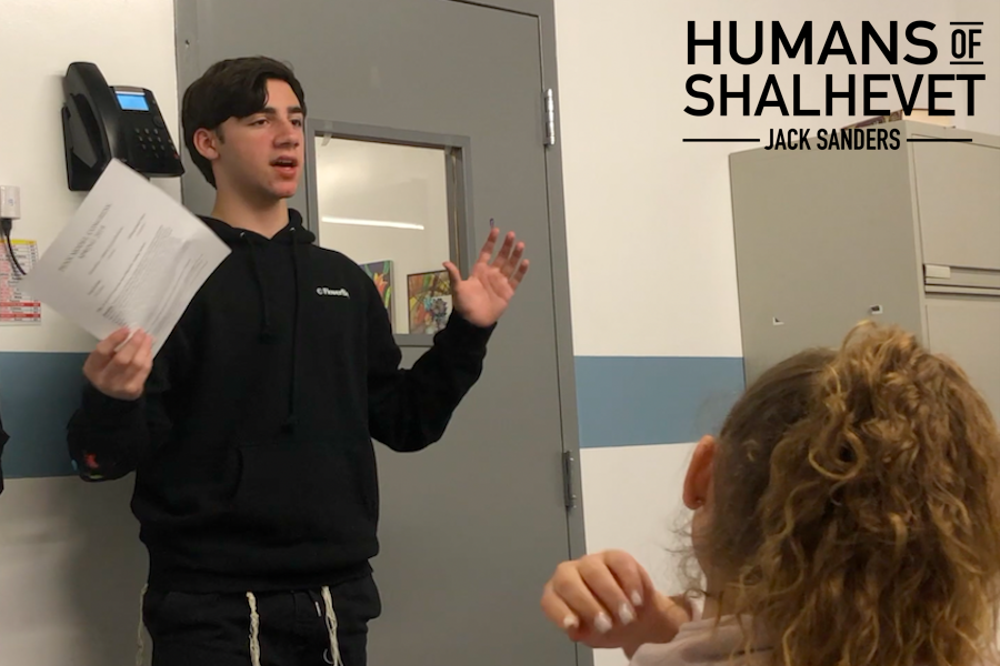 ARGUE: Freshman Jack Sanders enjoys discussing world issues, as he likes conveying his thoughts on those issues. Through discussion, he is able to educate others about problems in our world that they might not have been aware of.