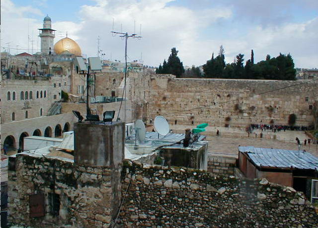 CONNECTED%3A+In+ancient+times%2C+Jews+came+from+all+over+Israel+to+pray+at+the+temple+in+Jerusalem.+Today%2C+praying+there+on+any+day+can+bring+feelings+of+unity+across+time.