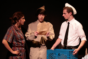 Scenes from childhood become 'Collective Memory' in drama's One-Act Festival