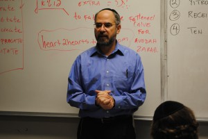 After six years of teaching, coaching and telling stories, Rabbi Parry says goodbye