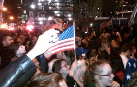 Students in N.Y., D.C. celebrate death of Bin Laden