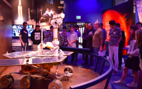 New Robotics Club views interplanetary rovers at JPL in Pasadena