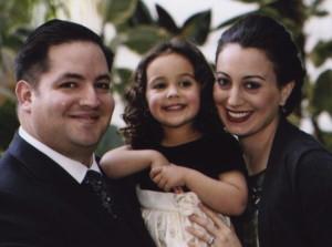FAMILY: Ari, Hadassa and Samira Miller