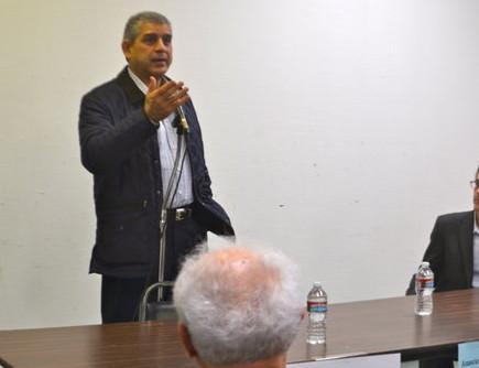 DIVORCE: PLO ambassador Maen Areikat said there was