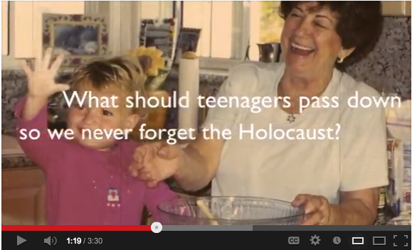 Video by Rachel Sentchuk wins Beth Jacob teen Holocaust contest