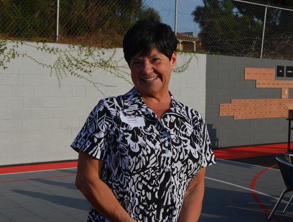 EXCITED: Math teacher Mrs. Gina Fuller appreciates the 'closer ties' in Shalhevet's community.