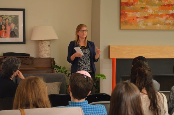 ZIONISM: Students from across the country listen to Dana Erlich, Israel's Consul for Public Diplomacy in L.A.