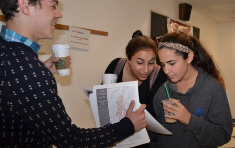 Hand-delivered, 'Nitzotzei' offers a weekly look at the parsha produced by students