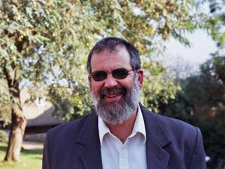 THINKER: Rabbi Bigman wrote the paper which allows women to sing solos at Shalhevet.
