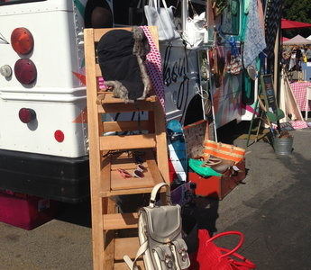 Food, fun and fashion at the flea market