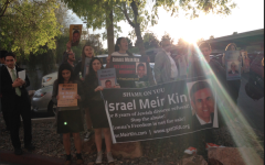 Students trek to Las Vegas to protest marriage in agunah case