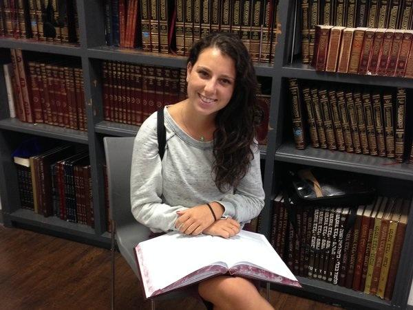 INSPIRED: Kaili Finn looks forward to a year of personal growth in Israel.