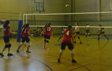 SET: Girls Voleyball spiked their way to a victory against LA Adventist on October 6th