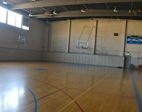 WOOD: PE classes will use the polished floors of the JCC gym this year during the day, but YULA will still share it for games and practices after school.