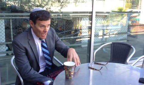 INTERVIEW: Israeli Consul General David Siegel spoke with Boiling Point reporters on the JCC breezeway Jan. 7th.