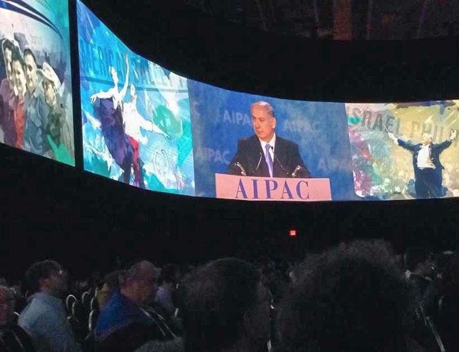 LIVE: Israeli Prime Minister Netanyahu addressed AIPAC conference March 2. Seventeen students from Shalhevet were there.