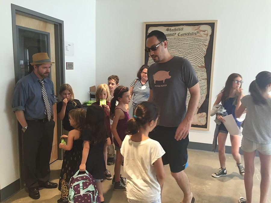 THROWBACK: Ikar's Hebrew school tried out the Shalhevet building for the first time Sept. 7. Just like last year, they will occupy many classrooms on Tuesday afternoons starting at 3:20.