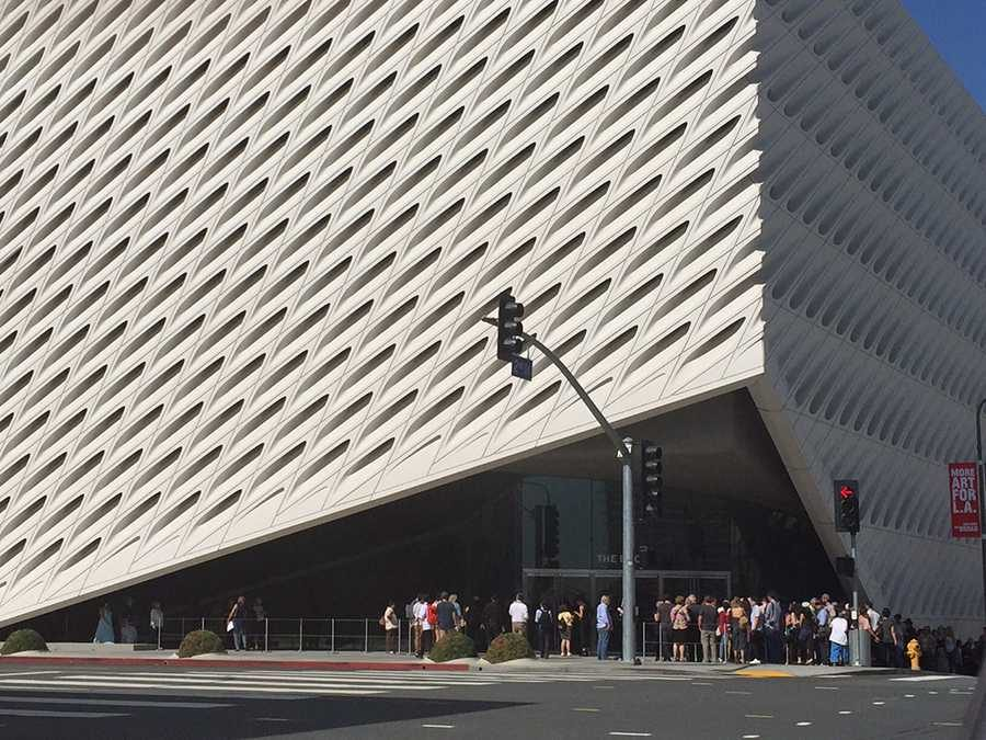 MODERN: The new Broad Museum houses some 2,000 20th- and 21st-century art works from the collection of Eli and Edythe Broad.