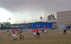 SEMIS: The sky was threatening but no rain fell on the Firehawks as they defeated Vistamar in league semi-finals at LACES Tuesday.