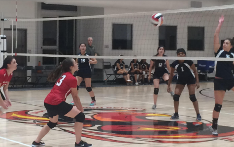 Girls volleyball heads into post-season in spite of young team, losing record