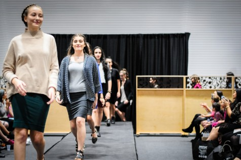 Fashion club steps out onto the runway