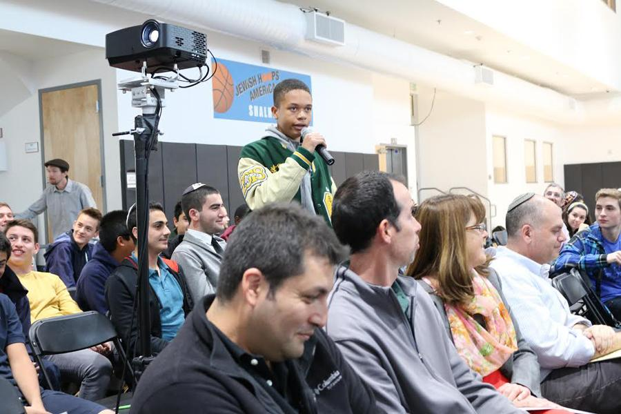 """Glendale sophomore Steve Dorsey shares his thoughts about whether """"the ends justify the means"""" at Town Hall Dec.3."""