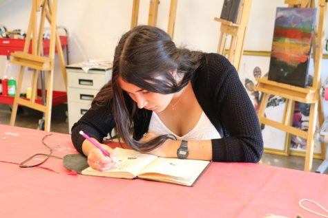For AP Art student, hours of work devoted to seeing