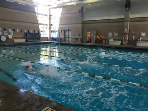 Girls sort through obstacles to continue female swim team