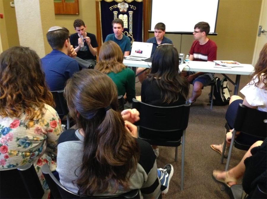 MENTORSHIP: Harvard Westlake journalists present highlights from their page, the Chronicle, and give tips.