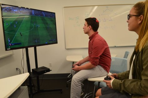 Not quite a sport, but video game craze takes over lunch
