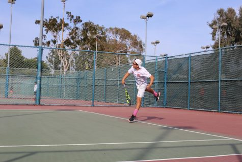 Without a coach, student takes the lead and leads tennis team to its best season yet