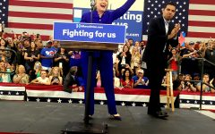 Student meets Hillary Clinton on the night she clinches historic nomination
