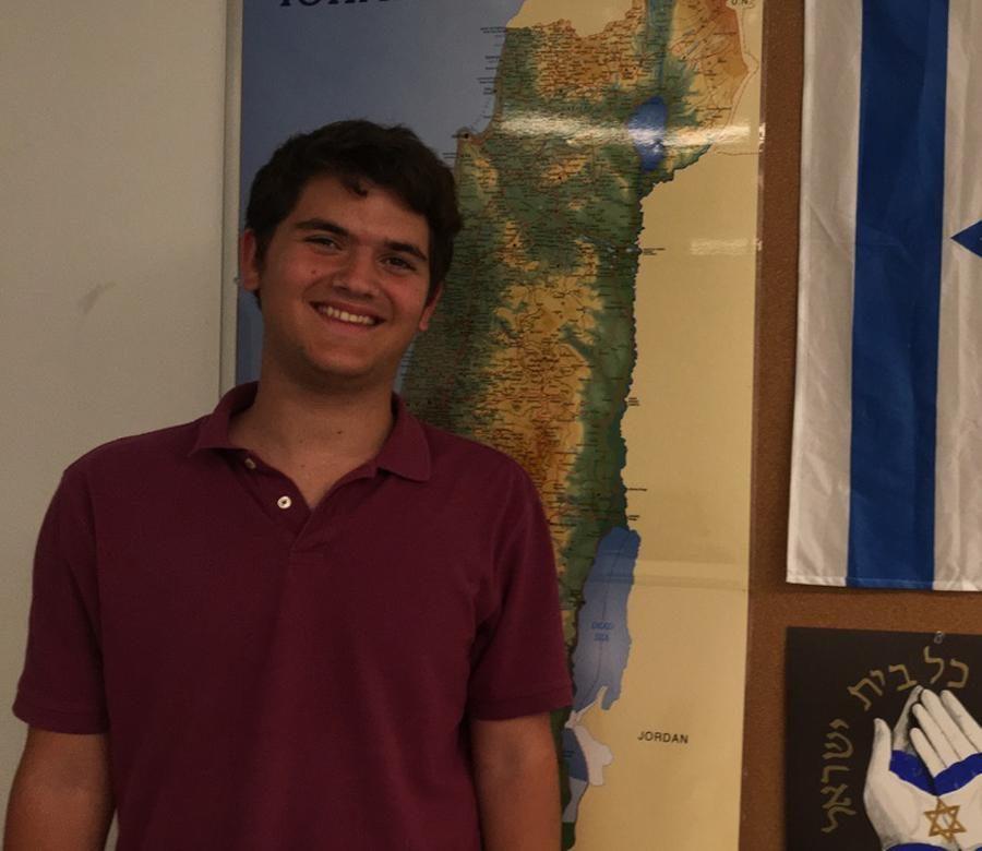 SENIOR SNAPSHOT: For Yonah Feld, America's great but Israel is home