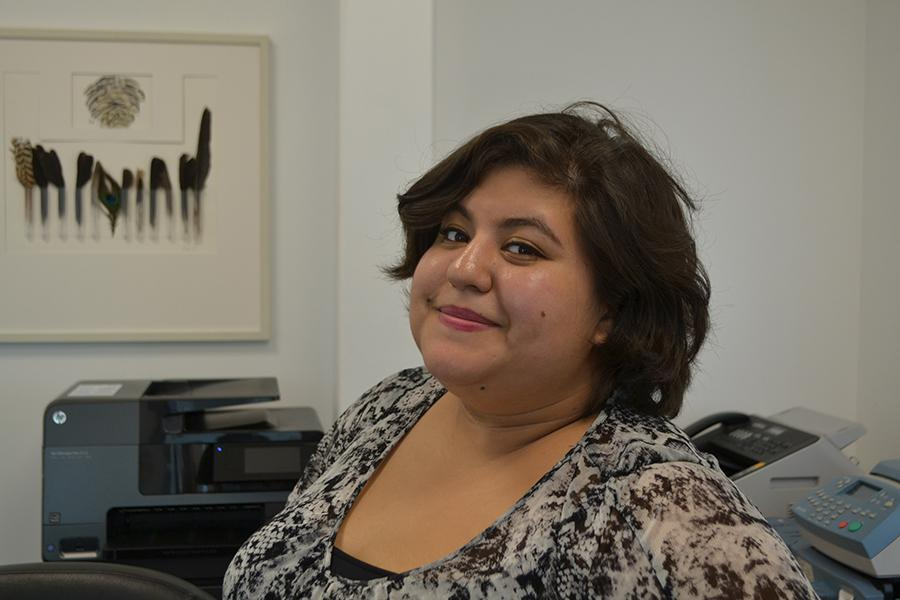 DRIVEN: Ms. Silva's main goal is to always be the most dependable person in the room.