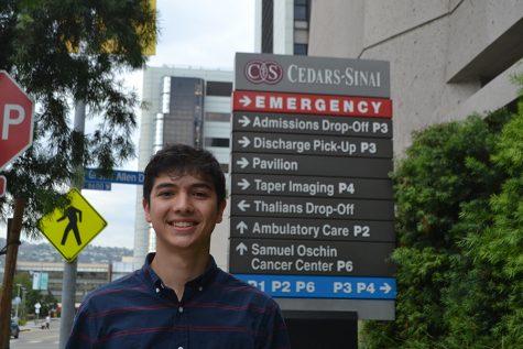 Robotics captain turns his talents to hospital labs