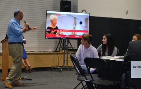 Freshmen receive the word at orientation event