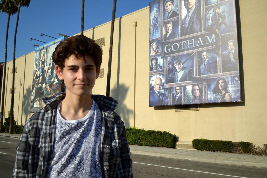 PASSIONATE: Sophomore David Mazouz said that he acts and goes to auditions simply out of enjoyment