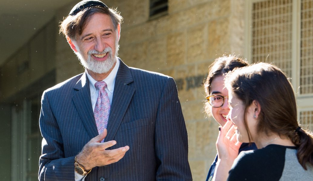 EXPERIENCE: Rabbi Abraham Lieberman has led YULA Girls High School since 2008.