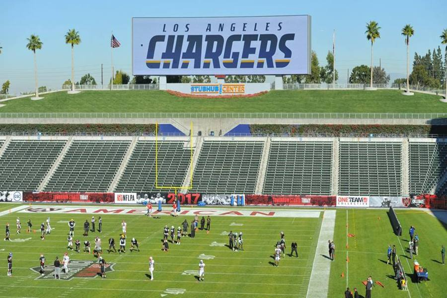 A photo-illustration from the Chargers' Facebook page.