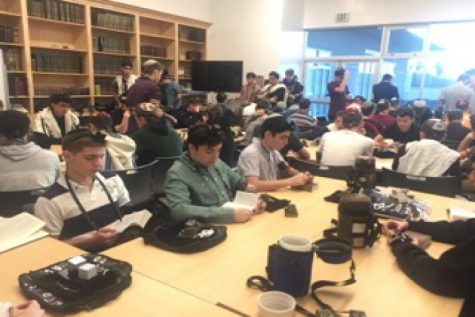 RUSH: Boys speed through their prayers– or do not really pray at all– during each morning's Hashkama minyan.