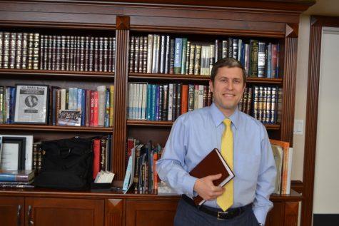 CENTER: Rabbi Kalman Topp of Beth Jacob Congregation said his synagogue has begun discussions about hiring a woman as community scholar.