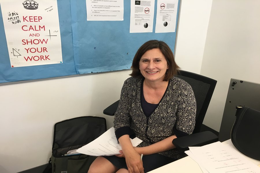 Ms. Halloran, who has been praised by students for her alternative teaching techniques, will be taking them to Harvard Westlake's middle school.