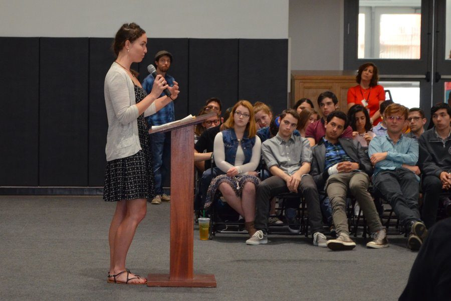 Megan Phelps, the granddaughter of founder of the Westboro Baptist Church, spoke at Shalhevet in an all-school assembly June 7. Since leaving, she has discovered the power of effective disagreement and now lectures on the subject and is working on an autobiography.