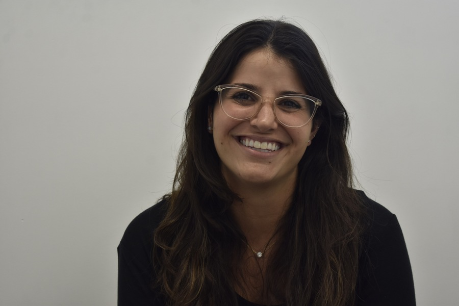 RESPECT: Ramie Smith, a graduate of Yeshivat Maharat, has also taught prisoners. She said she follows the same principles whoever her students are.