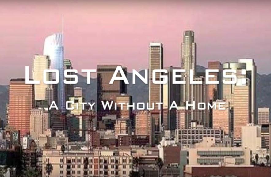 SUCCESS: The 2016 film class won an award for its film Lost Angeles, about poverty in LA.