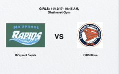 WATCH LIVE GIRLS CHAMPIONSHIP: Ma'ayanot vs KYHS